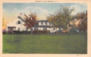 Newark New York~Country Club~1944 Linen Postcard