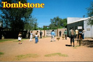 Arizona Tombstone Historic Shootout O K Coral