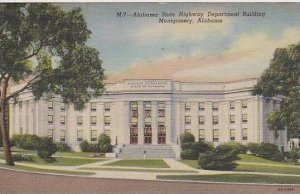 Alabama Montgomery Alabama State Highway Department Building