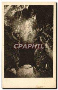 Postcard Old Sloupsko Sosuske Jeskyne Cerna Propasf