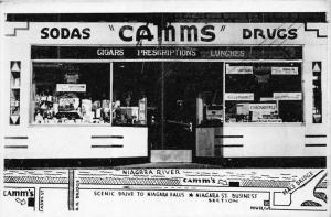675  Ontario Fort Erie   Camm´s Drugs, Cigars Presciptions Lunches