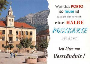 Bad Reichenhall Rathaus mit Hochstaufen Town Hall