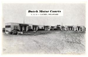 Delaware   Laurel , Dutch Motor Courts