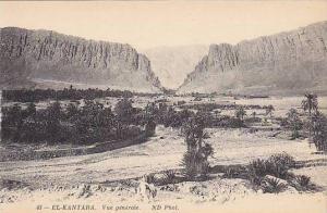 Vue Generale, El-Kantara, Algeria, Africa, 1900-1910s