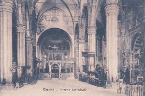 Italy Verona cathedral interior