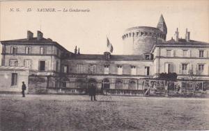 SAUMUR, Maine Et Loire, France,1900-1910's; La Gendarmerie