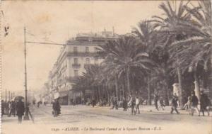 Algeria Alger Le Boulevard Carnot et le Square Bresson 1911