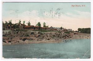 Rye Beach New York 1908? postcard