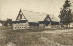 Andover NH Unitarian Church c1910 Real Photo Postcard