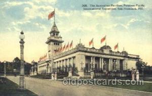 Australian Pavilion 1915 Panama International Exposition, San Francisco, Cali...