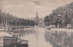 HAARLEM, Noord-Holland, Netherlands, 1900-1910's; Spaarne #2
