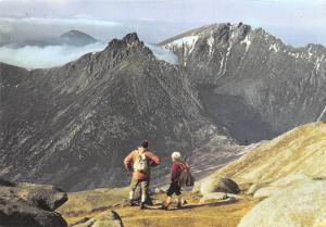 Goat Fell Summit Isle of Arran Mountains Landscape