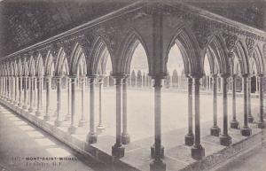 France Abbaye du Mont Saint-Michel Le Cloitre