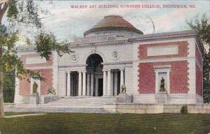 Maine Brunswick Walker Art Building Bowdoin College 1909