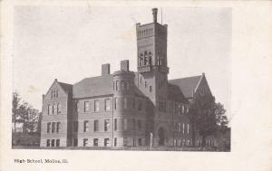 MOLINE, Illinois, 1900-1910s; High School