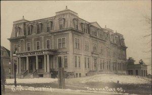 Washington DC Takoma Park Review & Herald Publishing Bldg c1910 RPPC