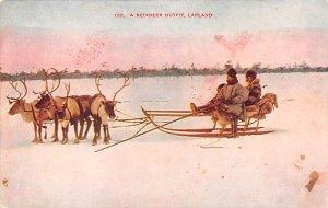 Reindeer Outfit Lapland Norway Unused