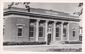 RP; U. S. Post Office Building, LAKE CITY, Minnesota, 1950s