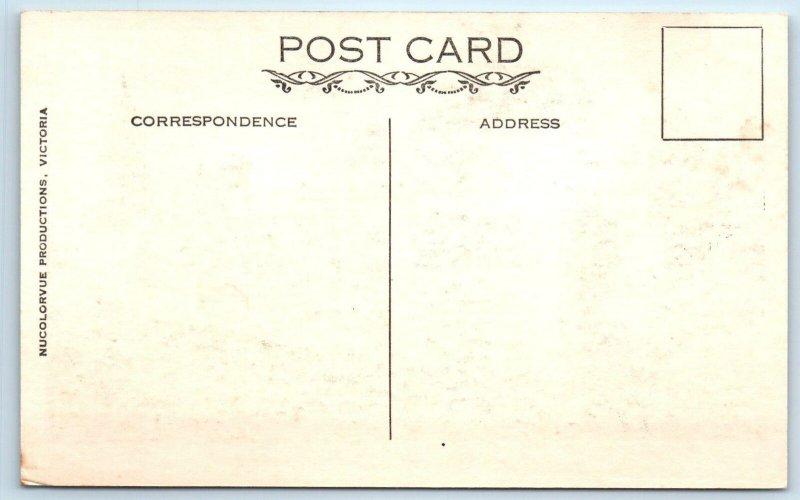 MELBOURNE, AUSTRALIA  Flinders Street  RAILWAY STATION  c1930s  Postcard