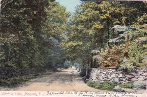 NEWPORT, Rhode Island, PU-1908 ; Lover's Walk