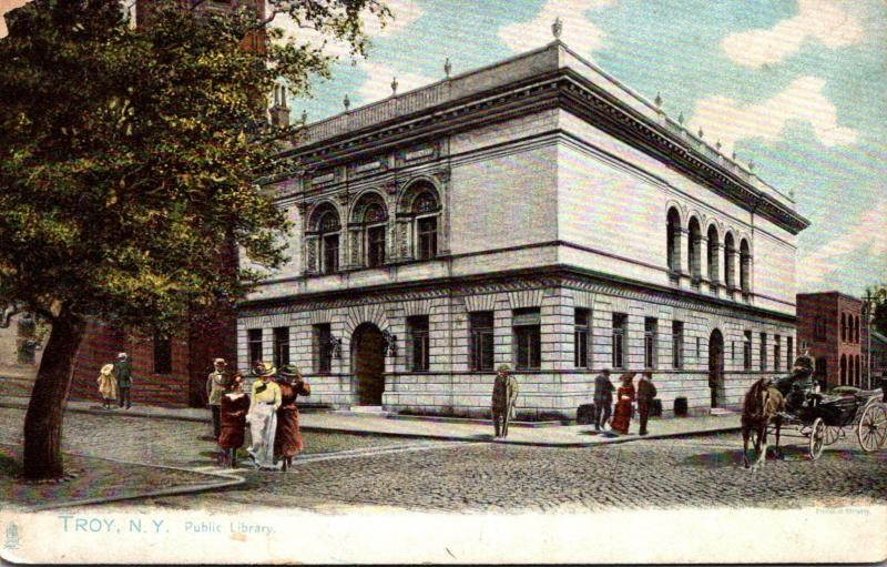 Public Library Troy New York Tucks