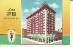 Indianapolis, Ind., Hotel Severin