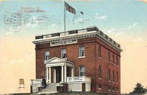 LP48   Burlington  Vermont Vintage Postcard U. S. Weather Station