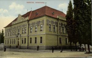 hungary, SZENTES, Járás Biróság, District Court (1910s)