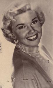 Doris Day Antique Postcard