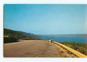 Vintage Postcard Bras Dor Lakes  Lookoff Kelly Mountain Nova Scotia Cana  # 2619