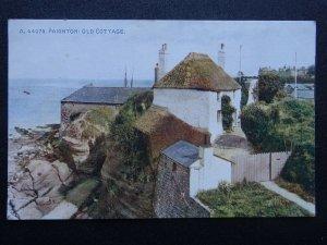 Devon PAIGNTON Old Cottage on the Coastal Rocks - Old Postcard by Photochrom