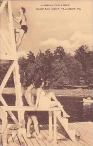 Pennsylvania Tamiment Climbing For A Dive Camp Tamiment Artvue