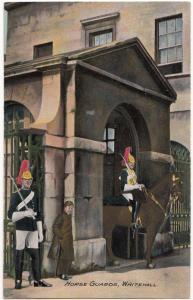 UK, London, Horse Guards, Whitehall, early 1900s, unused Postcard