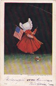 Sunbonnet Girls July 1911