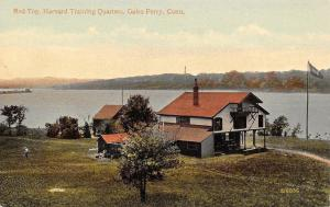 Gales Ferry Connecticut~Red Top Harvard Training Quarters for Yale Race~1908