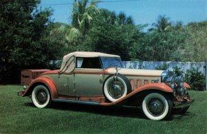 Postcard 1931 Cadillac V-16 Convertible Coupe