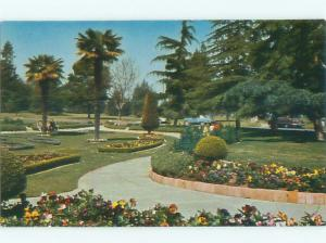 Pre-1980 PARK SCENE Long Beach - Near Los Angeles California CA AF7247