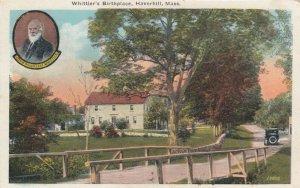 HAVERHILL , Massachusetts, 1900-10s; Whittier's Birthplace