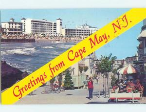 Pre-1980 TWO VIEWS ON CARD Cape May New Jersey NJ ho7707
