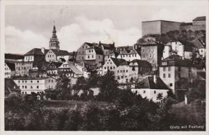 Germany Glatz mit Festung 1940