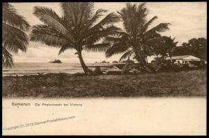 Germany Kamerun Postcard PPC Pirate Islands by Victoria Cameroun 85096