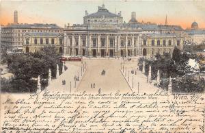 B92768 wien austria k k hofburghteater statuen historischer