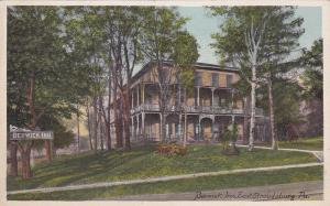 EAST STROUDSBURG , Pennsylvania , 1900-10s; Berwick Inn