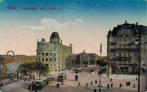 Austria Wien Aspernplatz mit Urania 04.62