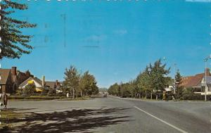 AMOS , Quebec, Canada , 1989 ; Site residentiel de ce centre culturel du Nord...