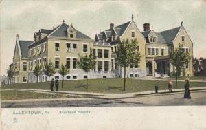 ALLENTOWN , Pennsylvania , PU-1907; Allentown Hospital, TUCK # 5490