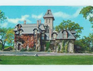 Unused Pre-1980 MUSEUM SCENE West Liberty Ohio OH hs9544