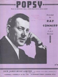 Popsy Ray Conniff 1960s Sheet Music