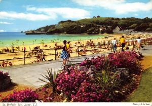 Jersey Postcard, 1970 St Brelades Bay, Channel Islands by John Hinde Ltd O94