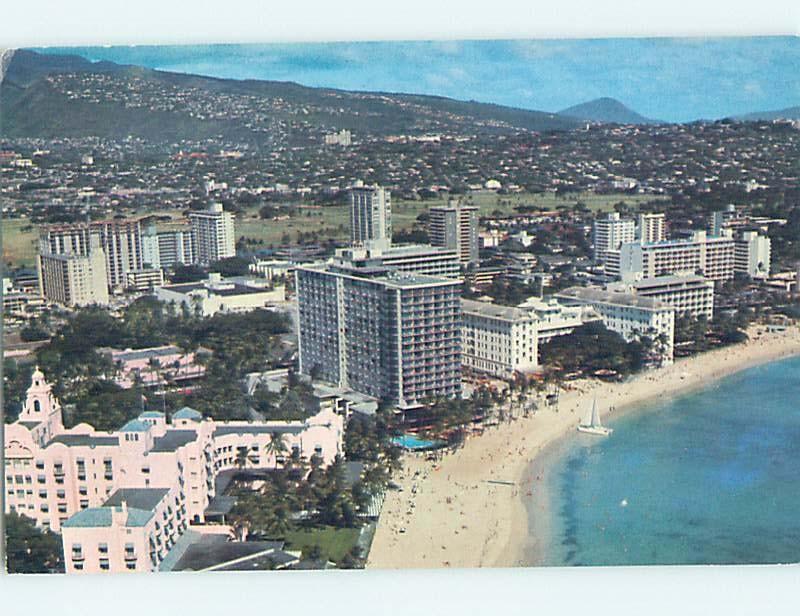 Pre-1980 OUTRIGGER HOTEL Waikiki - Honolulu Hawaii HI B2351